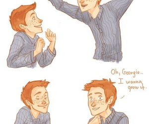 harry potter, hogwarts, and fred weasley image