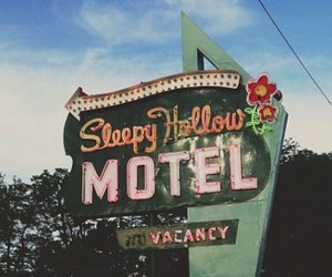 green, grunge, and motel image