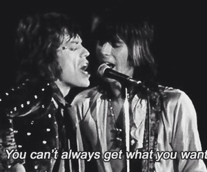 mick jagger, rock, and stones image