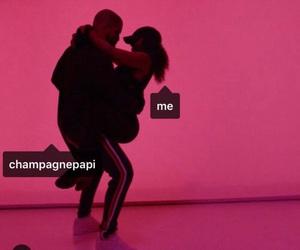 Drake, champagnepapi, and pink image