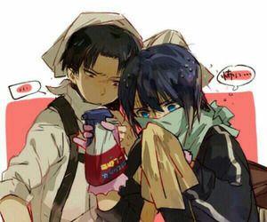 noragami, yato, and levi image