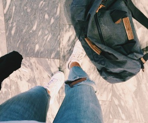 airport, bag, and comfy image