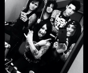 black veil brides, bvb, and jinxx image