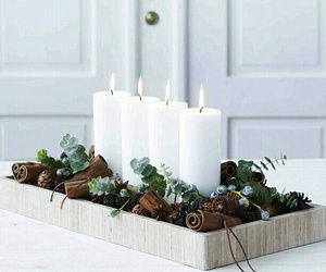 diy christmas candles image