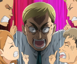 anime, spin off, and attack on junior high image