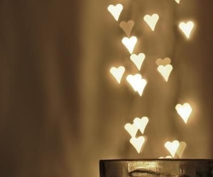 hearts, light, and heart image