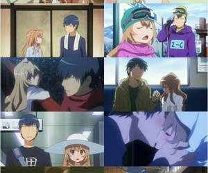 anime, couple, and ryuuji image