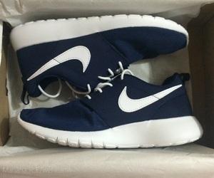 nike, navy blue, and white image