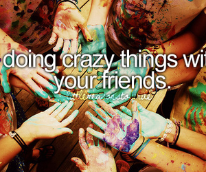 crazy, smile, and fun image