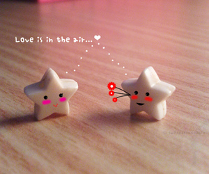 love, stars, and cute image