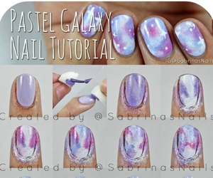 nail art, nails, and tutorial image