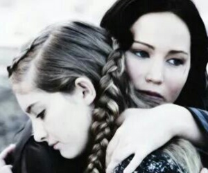 the hunger games, katniss, and catching fire image