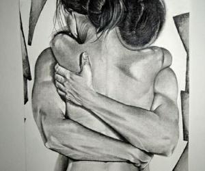 couple, love, and pasión image