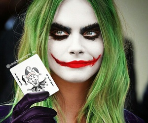 joker and cara delevingne image