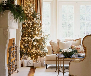 christmas, tree, and home image