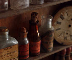 bottles and vintage image