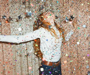 confetti, fun, and party image