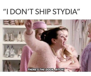 stydia, scream queens, and teen wolf image