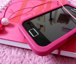 diary, girl, and pink image
