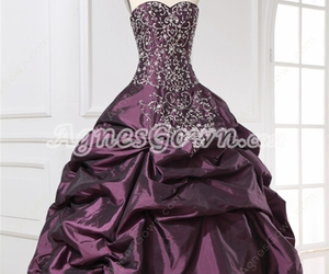 sweetheart, quince dress, and quinceanera dresses image