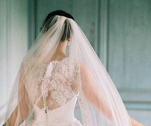 beautiful, wedding, and bridal image