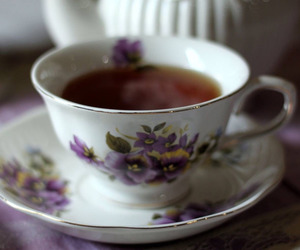 tea and tea cup image