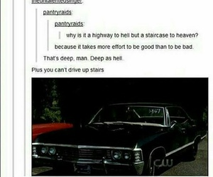 supernatural, tumblr, and impala image