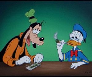disney, weed, and smoke image