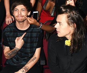 louis tomlinson, one direction, and larry image