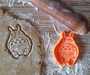 totoro, anime, and cookie image