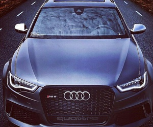 car and audi rs6 image