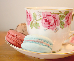 sweet, cup, and tea image