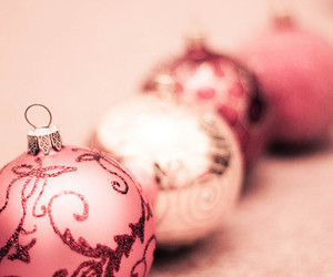 balls, baubles, and bokeh image