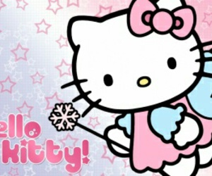 angel, hello kitty, and pink image