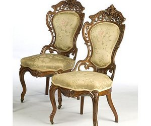 chairs and victorian image