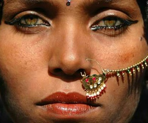 arab, piercing, and tribe image