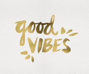 quotes, good vibes, and gold image