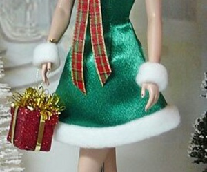 barbie and christmas image