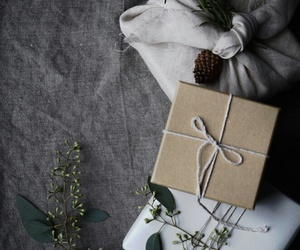 christmas, presents, and packaging image