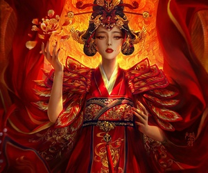 art, chinese, and fantasy image