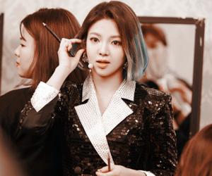 snsd, hyoyeon, and tiffany image