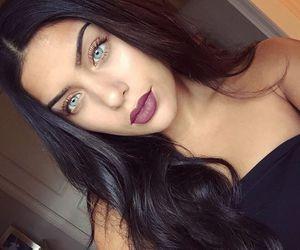 beautiful, eyes, and makeup image
