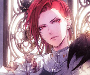anime, boy, and red hair image