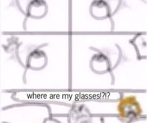 funny, glasses, and lol image