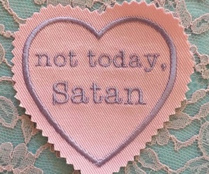 pink, satan, and aesthetic image