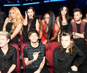 one direction, fifth harmony, and liam payne image