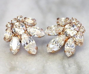 diamond, earrings, and jewellery image