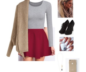 Polyvore, christmas eve, and date outfit image