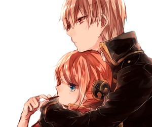 anime girl, anime couple, and anime boy image