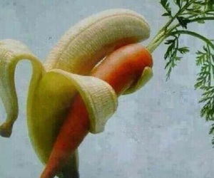 larry stylinson, banana, and carrot image